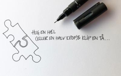 HUG EN HÆL (ELLER EN HALV KROP!) OG KLIP EN TÅ…