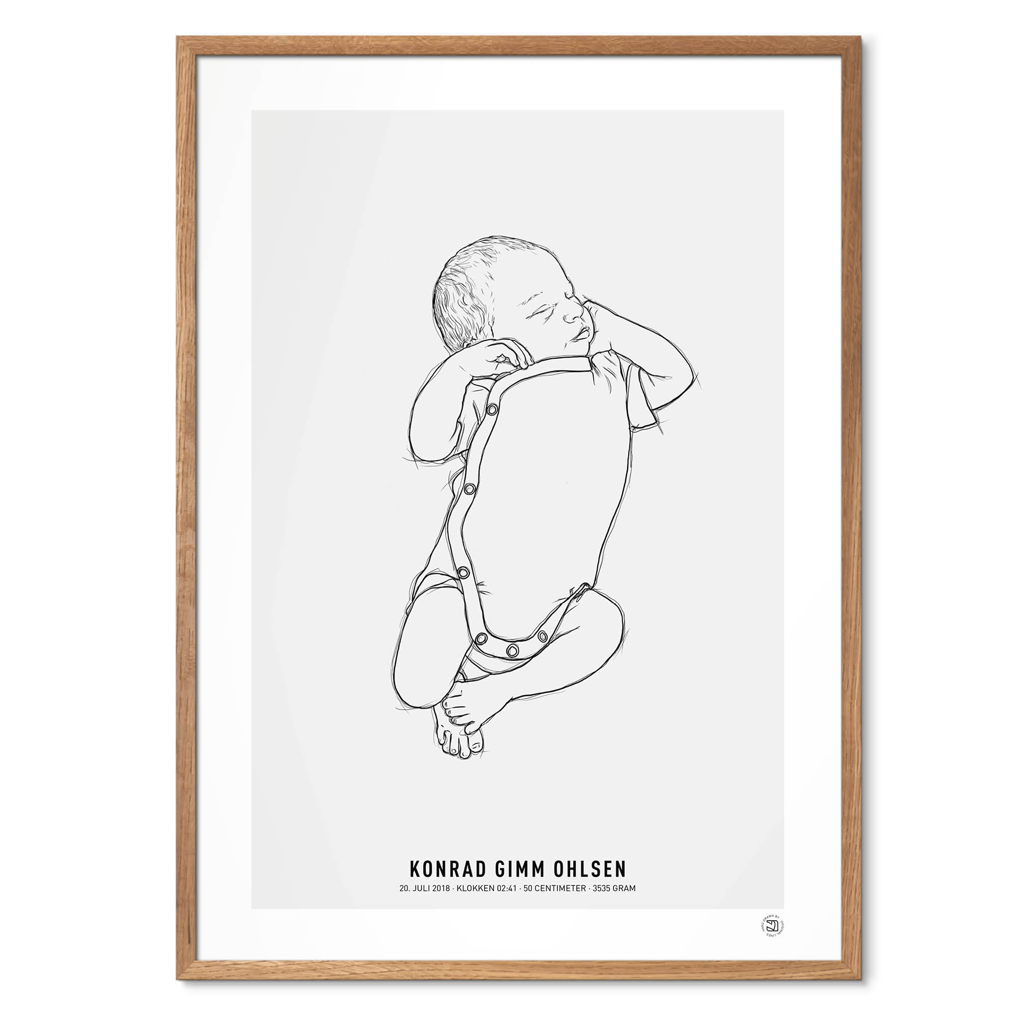 NEWBORN 1:1 birth poster