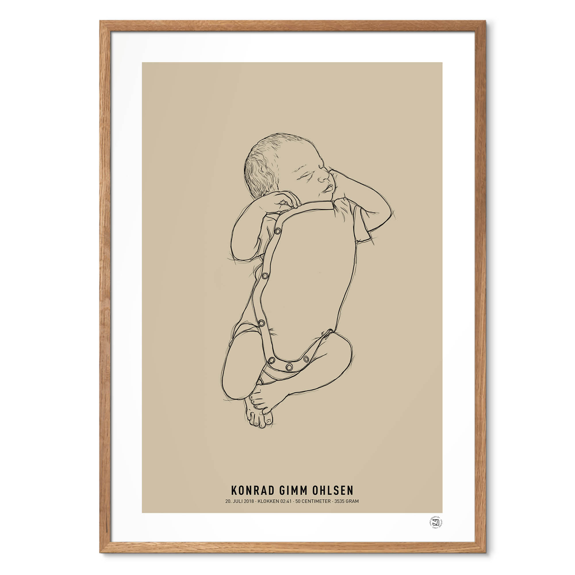 NEWBORN 1:1 birth poster